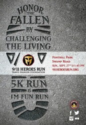 9/11 HEROES RUN - TRAVIS MANION FOUNDATION - SEPTEMBER 27th