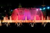 Magic fountain of monrjuic