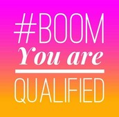 Congratulations! You qualified in November!!!