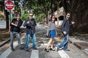 Italian actors having fun in Charleston