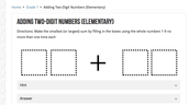 A task for first grade