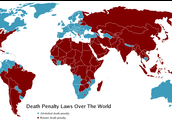 Death by penalties in the world
