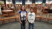 Haley Holden and Luke Johnson