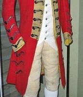 The British uniforms