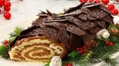 """The special """"Buche de Noel"""" dessert"""