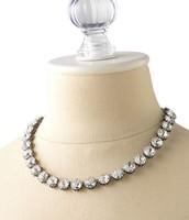 Vintage crystal neckalce