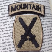 The 10th Division Mountain Patch