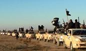 ISIS troop moving