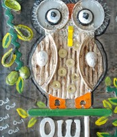 Mixed Media Class  Monday 11:30-1:00