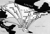 Map demonstrating Missiles