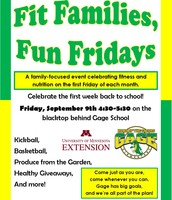 Fit Families, Fun Fridays