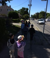 A walk in our community