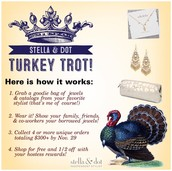 Turkey Trot with Stella & Dot
