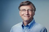 Who founded Microsoft and how much is it worth?
