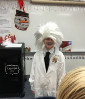 Mason as Albert Einstein