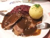 Mahlzeit der Woche. Sauerbraten
