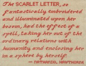 "The Scarlet Letter ""A"""