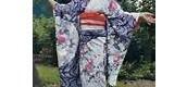 Furisode (kimono of an unmarried woman)