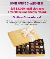 Congratulations on earning Home Office Challenge 2 ~ Godiva Chocolates!