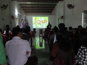 Khoa teaching another church group doctrine.
