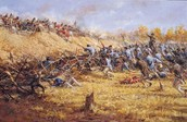 The End of The Battle of Saratoga