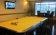 Billiards area