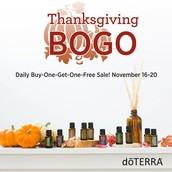 Thanks Giving BOGO