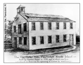 First Cotton Spinning Mill in Pawtucket, Rhode Island