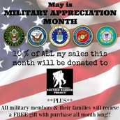 Help me celebrate our military!!