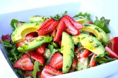 Cado&Berry salad