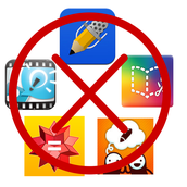 All apps purchased by the district will be removed from your device immediately.