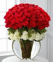 Red Rose Flower Arrangement