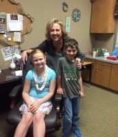 Hayden Karp and Ashley Manganilla, Assistant Principals!