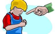 scolding child