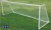 What happens when the ball makes it into the net!