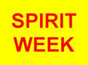 Spirit Week next week!
