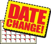 PTO Meeting Date Changes & Info