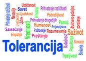 Бити толерантан значи бити слободан