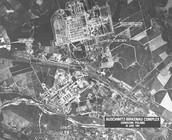 The layout of Auschwitz