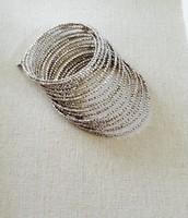 Bardot Spiral Bracelet (silver)