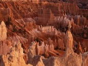 How was the Bryce canyon formed?