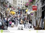 Les rues de St. Servan