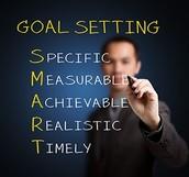 Let's talk about goals....