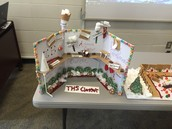 Therrell Gingerbread Cluster Model