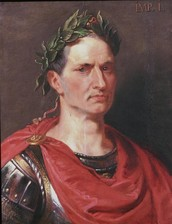 How did Julius Caesar achieve power?