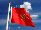 This is a Moroccan flag