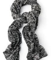 Union Square Scarf-Zebra Print