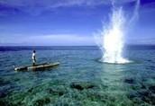 Pesca con dinamita