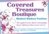 Our Boutique sells the latest Modest Modern Fashion!