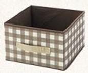 Checked Storage Box